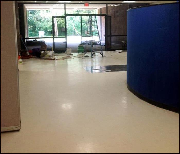 Post Construction Cleaning of School Entryway in Rockaway, NJ Before