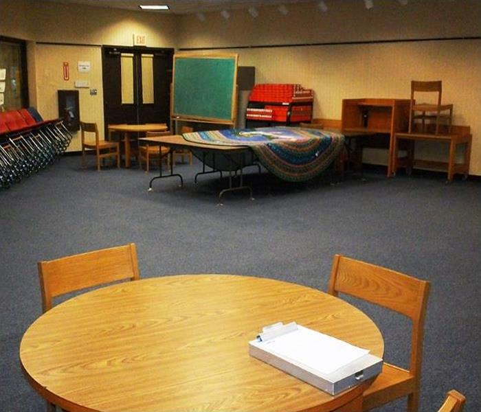 Commercial Showcase Carpet Cleaning & Deodorizing at a Local Library, Stanhope, NJ After