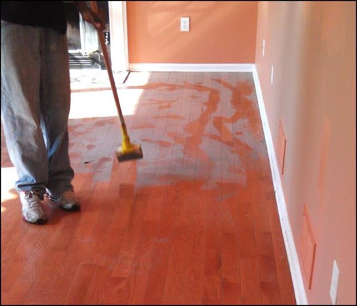 Ash/Smoke/Soot Cleanup Restoration of Floors and Walls, in Wayne, NJ Before