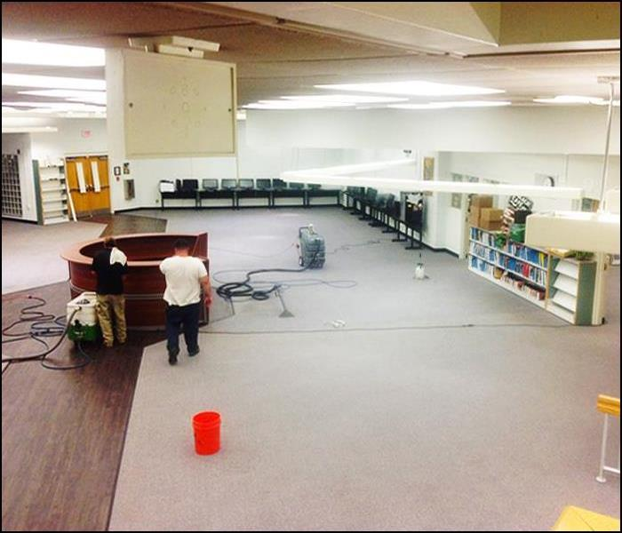Post construction Remediation & Cleaning at Elementary School in Rockaway, NJ